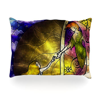 "Mandie Manzano ""Fairy Tale off to Neverland"" Oblong Pillow"