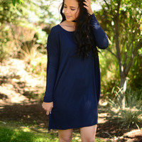 Softie Tunic- Navy