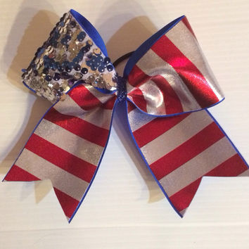 USA Flag Bow