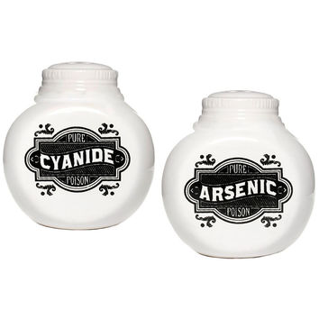 Sinister Seasonings Salt & Pepper Shakers