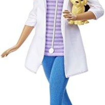 Barbie DHB19 Careers Veterinarian Doll African-American