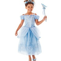 Sofia Cinderella Rapunzel Belle Snow White 2017 Girls Kids Short Sleeve Princess Dresses Up Teenage Party Dress Cosplay Costume