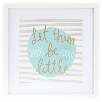 Let Them Be Little Framed Art | Hobby Lobby
