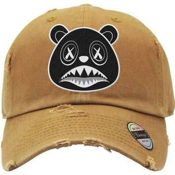Oreo Baws Chutney Dad Hat - Jordan Wheat Golden Harvest