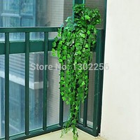 8.2feet Green Artificial Ivy Leave Plants Vine Fake Foliage Flowers Home