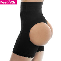 Hot Sale Shapers Pants Women Bandage Butt Lifter Black Waist Cincher Shapewear Plus Size