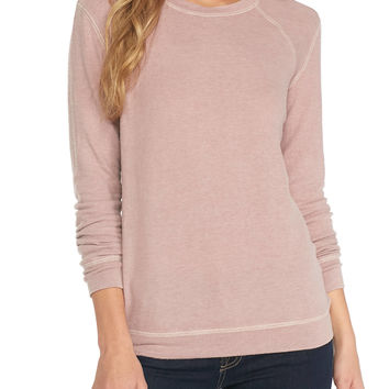 Derek Heart Brushed Pullover