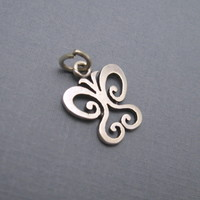 James Avery Sterling Butterfly Small Charm