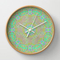Dancer 2 Wall Clock by Lisa Argyropoulos | Society6