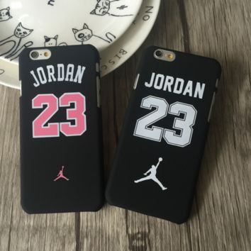Cool Jordan 23 Print Iphone X 8 8 Plus 7 7 Plus 5 5S SE 6 6s Plus Cover Case