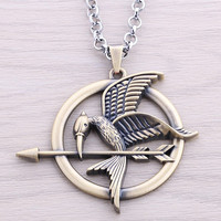 The Hunger Games Movie Mockingjay Pendant Necklace