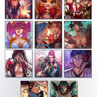 [LoL] 6x6 Mini Prints!