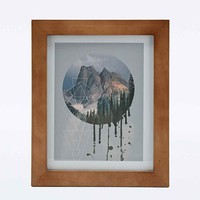 Geo Mountains Wall Art - Urban Outfitters