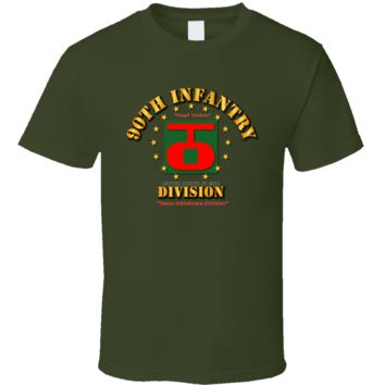 90th Infantry Division - Tough Ombres T Shirt