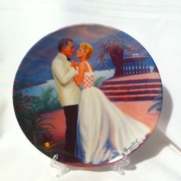 Some Enchanted Evening Fine China Collectible Plate by Elaine Gignilliat