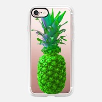 Atomic Green Pineapple iPhone 7 Case by Lisa Argyropoulos | Casetify
