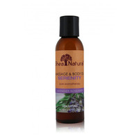Shea Natural Massage and Body Oil - Serenity Lavender Rosemary - 4 oz