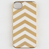 Incase Chrome Chevron Iphone 4/4S Case Gold One Size For Women 21917662101