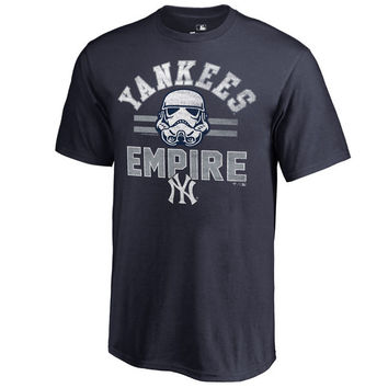 New York Yankees Fanatics Branded Youth MLB Star Wars Empire T-Shirt – Navy