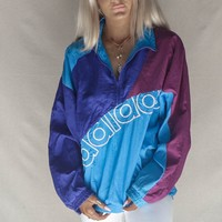 VINTAGE Color Block Adidas Windbreaker