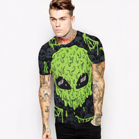 2017 Slime Alien slim fit Tshirt