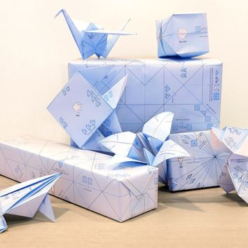 Origami Gift Wrap