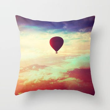 Dreamer Throw Pillow by BaxiaArt