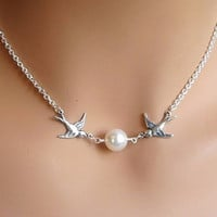 Jewelry New Arrival Gift Stylish Shiny Accessory Pearls Chain Necklace [8451549645]