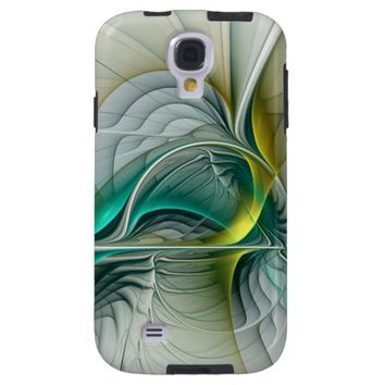 Fractal Evolution, abstract Art Galaxy S4 Case