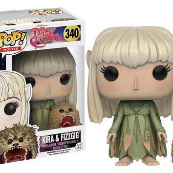 "Funko Pop Kira & Fizzgig 3.75"" Vinyl Figure Dark Crystal"