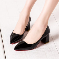 Summer High Heel Sexy Pointed Toe Shoes [4919961348]