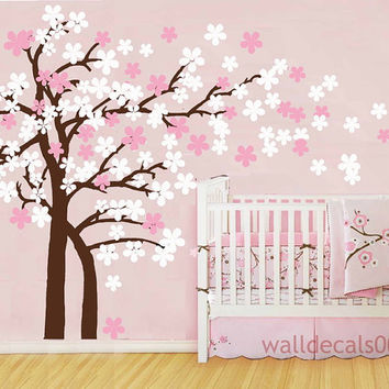 Kids Wall Decal Wall Sticker tree decal cherry by walldecals001