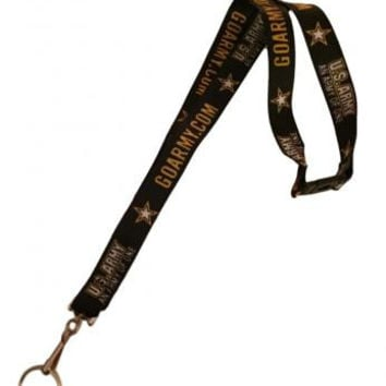 U.S. Army An Army Of One Safety Breakaway Lanyard Keychain ID Holder Military