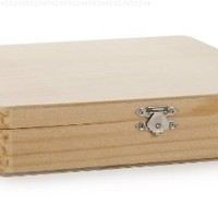 Darice 9180-07 Laquered Cigar Box