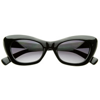 Vintage Inspired  Retro Fashion Cateye Sunglasses