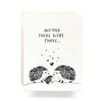 ANTIQUARIA BABY HEDGEHOG CARD