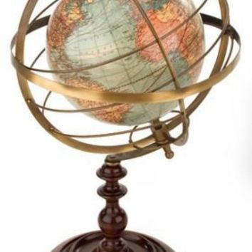 BARNES & NOBLE | Terrestrial Armillary Sphere 13.25 x 8.75 by Authentic Models