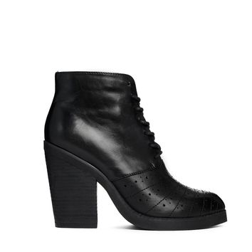 ASOS ENOUGH SAID Leather Ankle Boots
