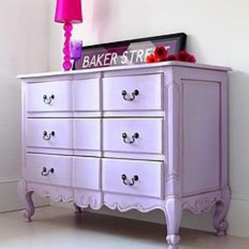 elodie lilac french chest of drawers by out there interiors | notonthehighstreet.com