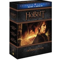 The Hobbit: Motion Picture Trilogy (Extended Edition) (Blu-ray + Digital HD With UltraViolet) (Widescreen) - Walmart.com