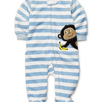 Carter's Baby Coverall, Baby Boys Striped Footed Coverall - Kids Baby Boy (0-24 months) - Macy's