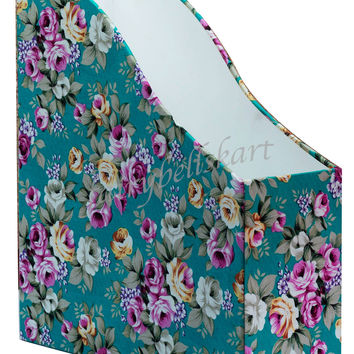 Floral File & Magazine Holder FBKA009