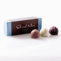 Truffles 3 pc - Edward Marc Chocolatier