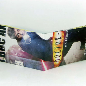 Last Minute Stocking Stuffer Sale// Comic Book Wallet// Doctor Who (David Tennant)