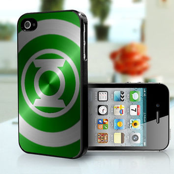 Green Lantern  iPhone 4 iPhone 4s case by 4JustNCASE on Etsy