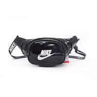NIKE Popular Personality Purse Waist Bag Sport Single-Shoulder Bag Satchel Black