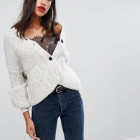 Selected Knitted Oversized Cardigan