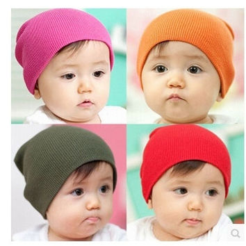 New Unisex Newborn  Toddler Infant Cotton Soft Cute Baby Boy Gir Hat Cap Beanie = 1705638596