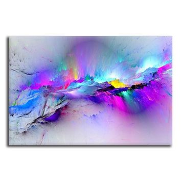 Abstract Modern Posters And Prints Wall Art Canvas Painting Wall Posters Pictures Large Wall Painting for Living Room Wall Home