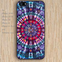 iPhone 5s 6 case colorful rainbow mandala phone case iphone case,ipod case,samsung galaxy case available plastic rubber case waterproof B322